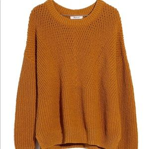 Madewell Joslin sweater, in Golden Harvest, Small